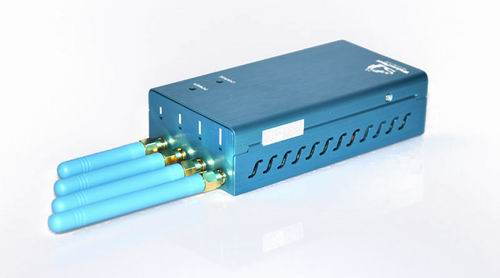 High Power Portable GPS (GPS L1/L2/L3/L4/L5) Jammer
