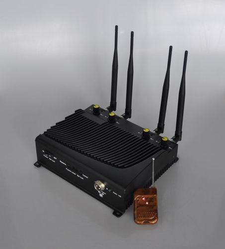 jammer handbook #7 makeup | Adjustable 4 Band Desktop Mobile Phone Jammer with Remote Control