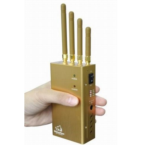 Wholesale Handheld GPS Jammer GPS L1/L2/L5 Signal Jammer and Lojack Jammer with Selectable Switch