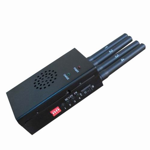 Cell phone jammer case | High Power Signal Jammer For GPS L1 L2 L3 L4 L5 + LoJack + RF 315 433MHZ With 18W Out Put and 8 Antennas