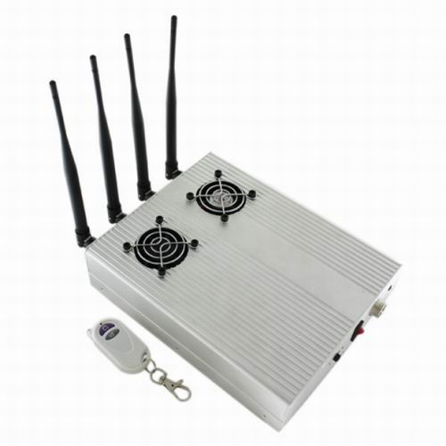 jammerprohd - New Style High Power Desktop Cell Phone Jammer - CDMA/3G/GSM Blocker with 2 Cooler Fans