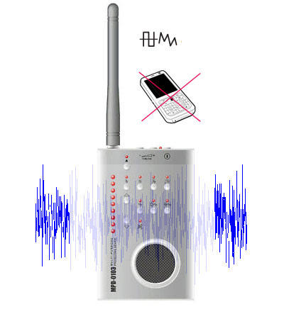 Cell phone gps wifi signal jammer | Bug Detector Radio Frequency Detector