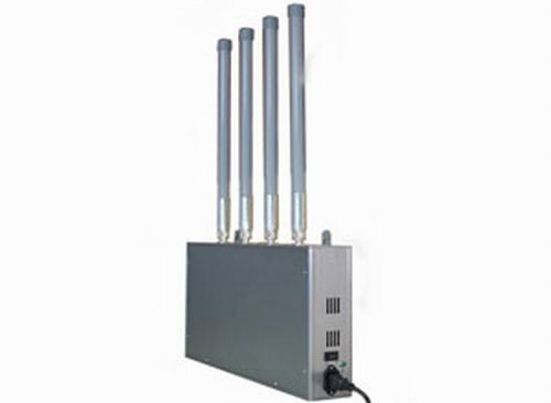 electronic signal jammer - High Power Mobile Phone Jammer with Omni-directional Firberglass Antenna