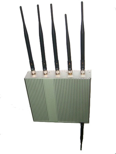Wholesale 6 Antenna Cell Phone GPS WiFi Jammer +Remote Control