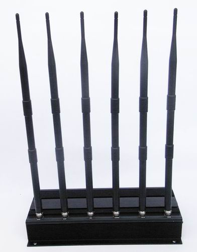 Wholesale High Power 6 Antenna Cell Phone,GPS,WiFi,VHF,UHF Jammer