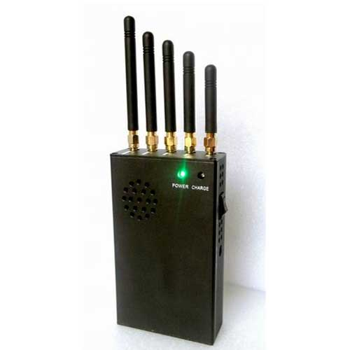 Wholesale 3W Portable 3G Cell Phone Jammer & 4G Jammer (4G LTE + 4G Wimax)