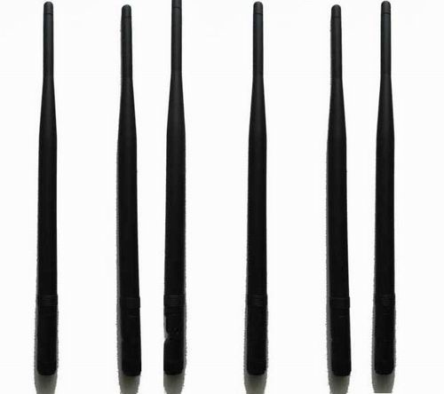6pcs Replacement Antennas for High Power Cell Phone RF Signal Jammer