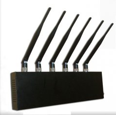 Wholesale 6 Antenna WI-Fi & GPS &Cell phone Jammer for World Wide Usage