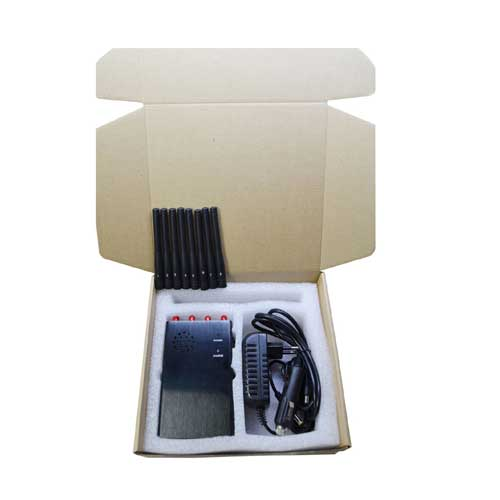 All signals jammers - 6 Antenna Portable WiFi 3G 4G Phone Signal Jammer