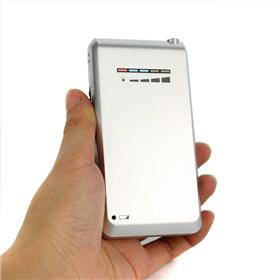 Block wireless signal , New Cellphone Style Mini Portable Wireless Bug Camera Audio Jammer