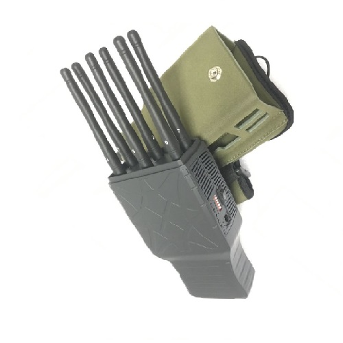 Wholesale Handheld 6 Bands All CellPhone and WIFI Signal Jammer with Nylon