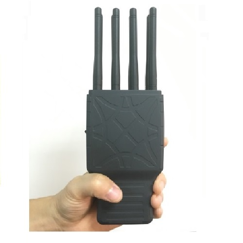iphone gps jammer yellow - Handheld 8 Bands All CellPhone and WIFI GPS Signal Jammer with Nylon Case