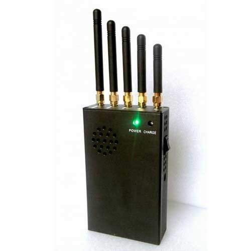 Wholesale 3W Portable 3G Cellphone Jammer & VHF Jammer & UHF Jammer