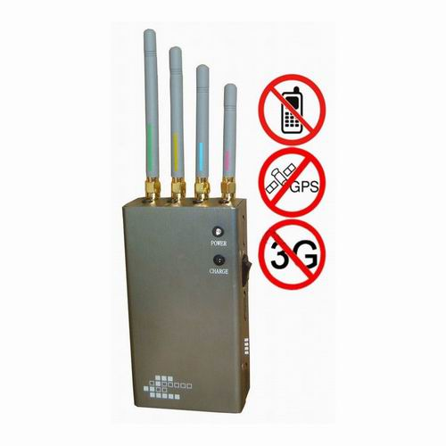 Wholesale 5-Band Portable Cell Phone 2G 3G & GPS Jammer